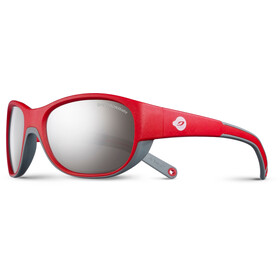 Julbo Luky Spectron 4 Sunglasses Kids 4-6Y Red/Gray-Gray Flash Silver